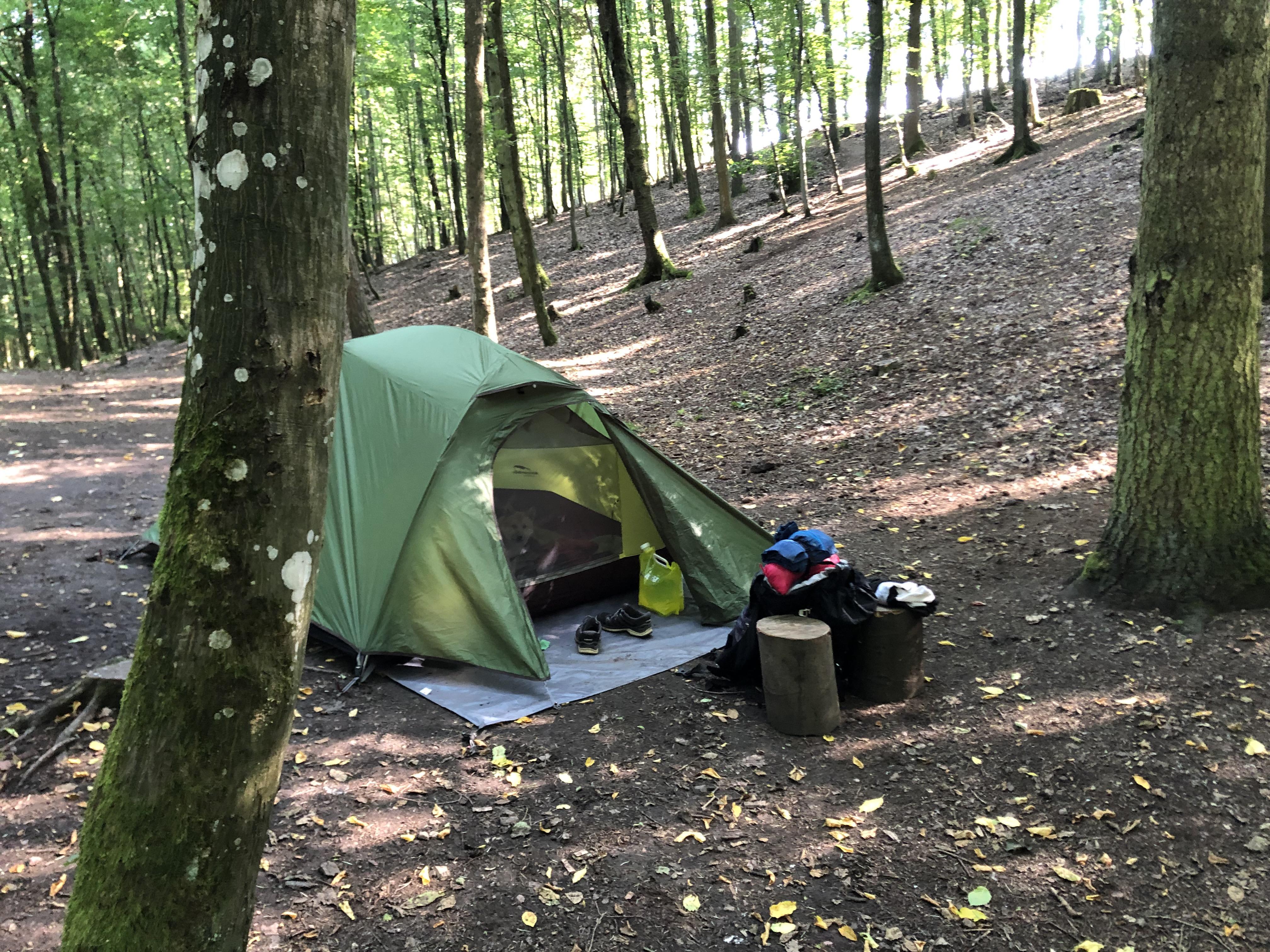Am Trekkingplatz Imsbach